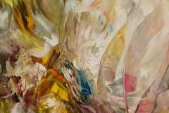 Abstraktion / Öl/Leinwand / 49,5x100 / - verkauft -