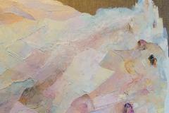 Santorini. Fragment / Öl/Leinwand / 50x70
