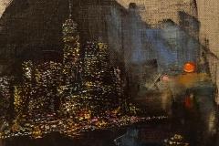 New York Motive / Öl/Leinwand / 20x20 / -verkauft -