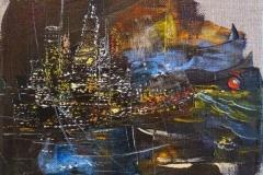 New York Motive / Öl/Leinwand / 20x20 / - verkauft -