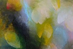 Tulpen fallend / Öl/Leinwand / 30x40