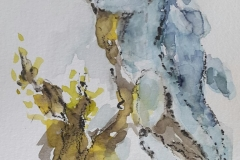 Skizzen / Pafos Bird and Animal Park / Aquarell / 10,5 x 14,5